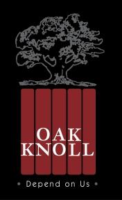 Oak Knoll Book Publishers