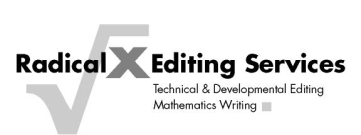 Technical Writing and Mathematical Editing