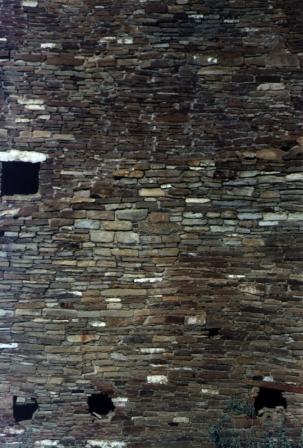 anasazi hole wall