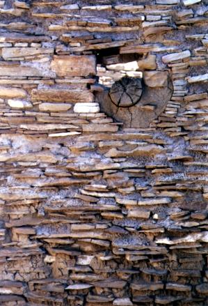 anasazi log hole