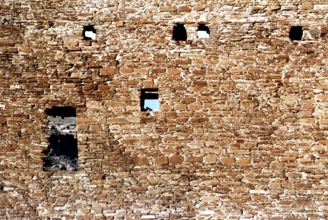 anasazi wall of windows