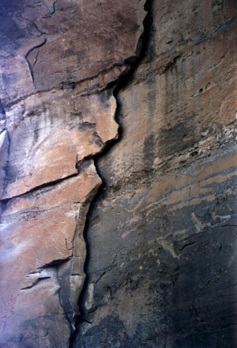 cliff crack #2